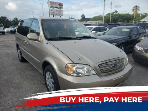 2004 Kia Sedona for sale at Mars auto trade llc in Kissimmee FL