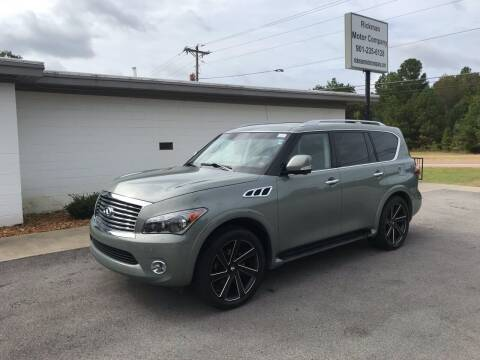 2012 Infiniti QX56 for sale at Rickman Motor Company in Somerville TN