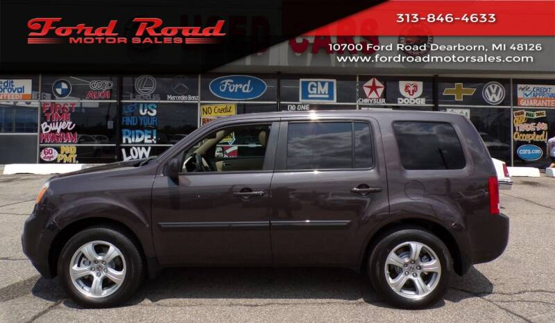 2013 Honda Pilot for sale at Ford Road Motor Sales in Dearborn MI