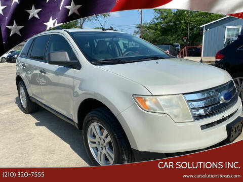 2007 Ford Edge for sale at Car Solutions Inc. in San Antonio TX