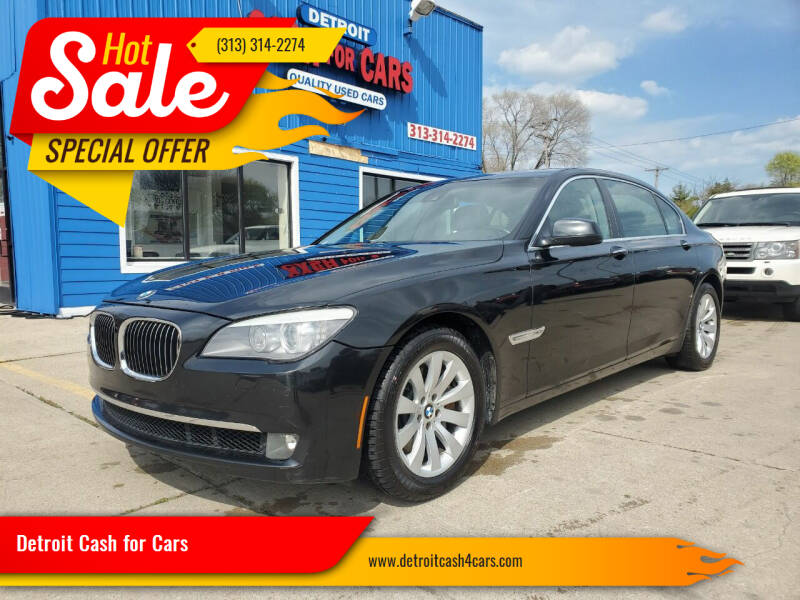 2011 BMW 7 Series for sale at Detroit Cash for Cars in Warren MI