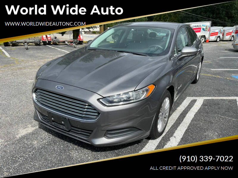 2014 Ford Fusion Hybrid for sale at World Wide Auto in Fayetteville NC
