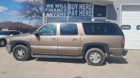 2003 GMC Yukon XL for sale at STERLING MOTORS in Watertown SD