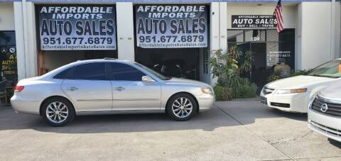 2007 Hyundai Azera for sale at Affordable Imports Auto Sales in Murrieta CA