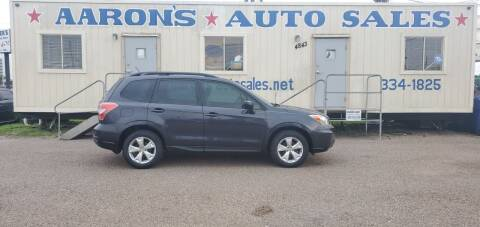 2015 Subaru Forester for sale at Aaron's Auto Sales in Corpus Christi TX