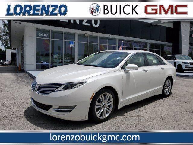 2014 Lincoln MKZ Hybrid for sale at Lorenzo Buick GMC in Miami FL