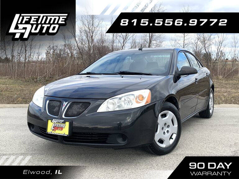 2008 Pontiac G6 for sale at Lifetime Auto in Elwood IL