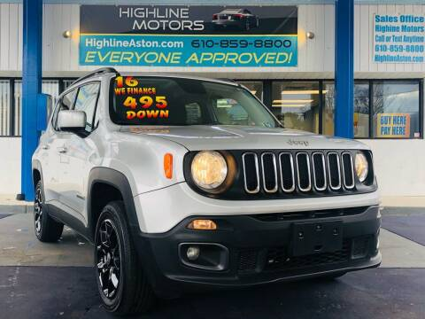 2016 Jeep Renegade for sale at Highline Motors in Aston PA