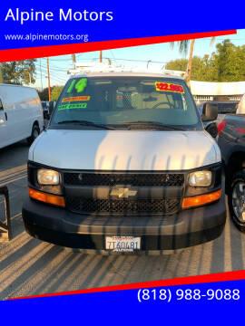 2014 Chevrolet Express Cargo for sale at Alpine Motors in Van Nuys CA