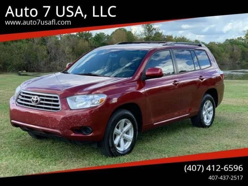 2010 Toyota Highlander for sale at Auto 7 USA, LLC in Orlando FL
