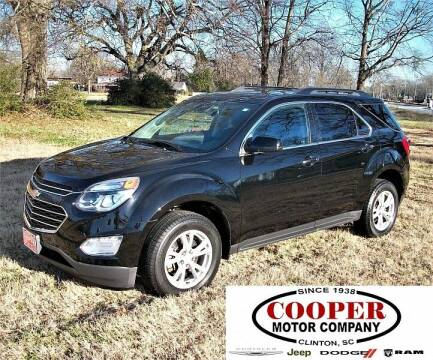 2017 Chevrolet Equinox for sale at Cooper Motor Company in Clinton SC