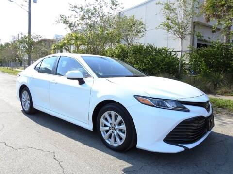 2020 Toyota Camry for sale at SUPER DEAL MOTORS in Hollywood FL