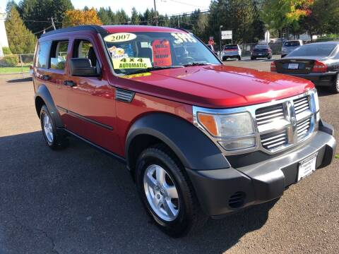 2007 Dodge Nitro for sale at Freeborn Motors in Lafayette, OR