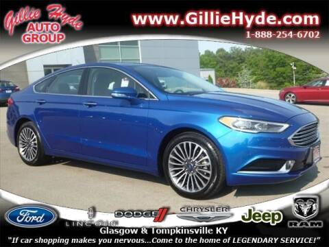 2018 Ford Fusion for sale at Gillie Hyde Auto Group in Glasgow KY