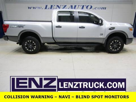 2017 Nissan Titan XD for sale at LENZ TRUCK CENTER in Fond Du Lac WI