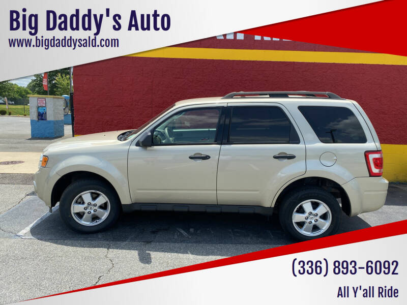 2012 Ford Escape for sale at Big Daddy's Auto in Winston-Salem NC