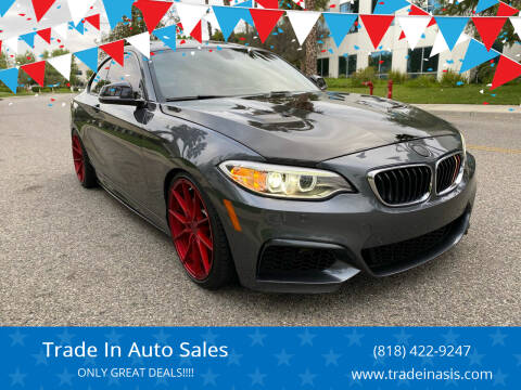 2016 BMW 2 Series for sale at Trade In Auto Sales in Van Nuys CA
