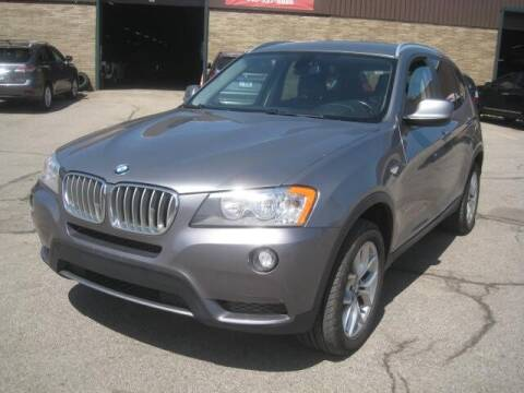 2013 BMW X3 for sale at ELITE AUTOMOTIVE in Euclid OH