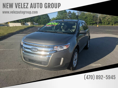 2013 Ford Edge for sale at NEW VELEZ AUTO GROUP in Gainesville GA