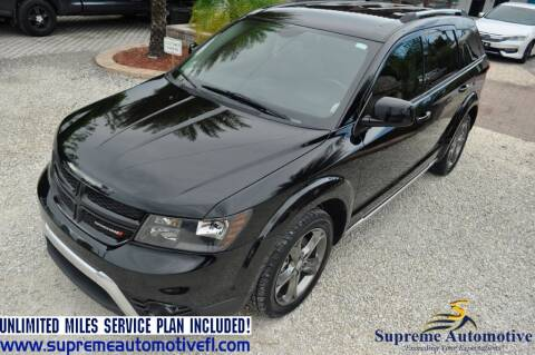2016 Dodge Journey for sale at Supreme Automotive in Land O Lakes FL