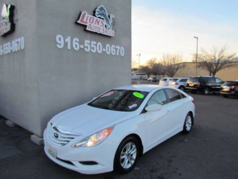 2013 Hyundai Sonata for sale at LIONS AUTO SALES in Sacramento CA