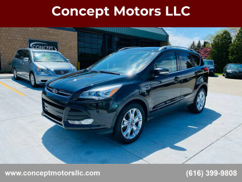 2014 Ford Escape for sale at Concept Motors LLC in Holland MI