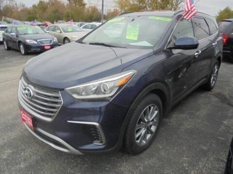 2018 Hyundai Santa Fe for sale at Century Auto Sales LLC in Appleton WI