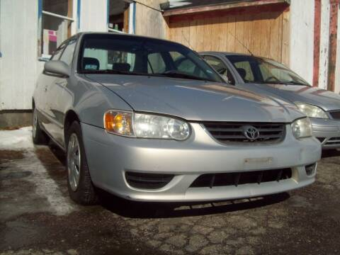 2001 Toyota Corolla for sale at Frank Coffey in Milford NH