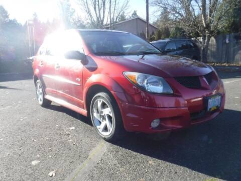 2003 Pontiac Vibe for sale at Brooks Motor Company, Inc in Milwaukie OR