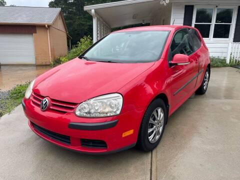 2007 Volkswagen Rabbit for sale at Efficiency Auto Buyers in Milton GA