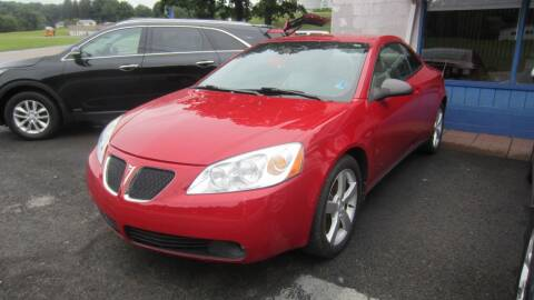 2007 Pontiac G6 for sale at Auto Outlet of Morgantown in Morgantown WV