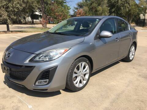 2010 Mazda MAZDA3 for sale at Safe Trip Auto Sales in Dallas TX