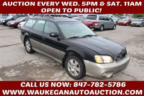 2004 Subaru Outback for sale at Waukegan Auto Auction in Waukegan IL