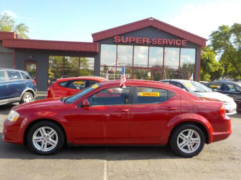 2011 Dodge Avenger for sale at Super Service Used Cars in Milwaukee WI
