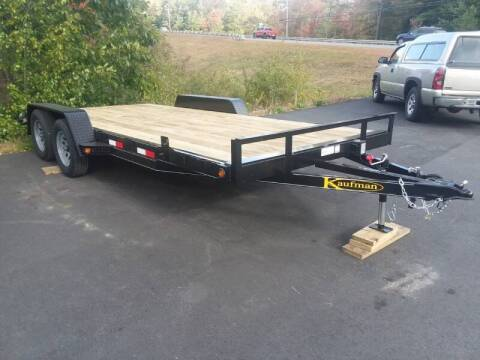 2021 Kaufman Std. FAW 18' Car Trailer for sale at Mascoma Auto INC in Canaan NH