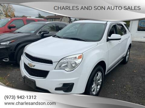 2010 Chevrolet Equinox for sale at Charles and Son Auto Sales in Totowa NJ