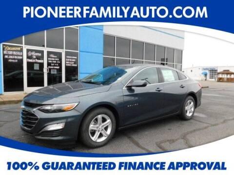 2021 Chevrolet Malibu for sale at Pioneer Family auto in Marietta OH