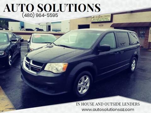 2012 Dodge Grand Caravan for sale at Auto Solutions in Mesa AZ