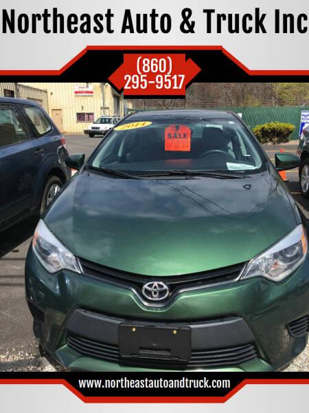 2014 Toyota Corolla for sale at Northeast Auto & Truck Inc in Marlborough CT