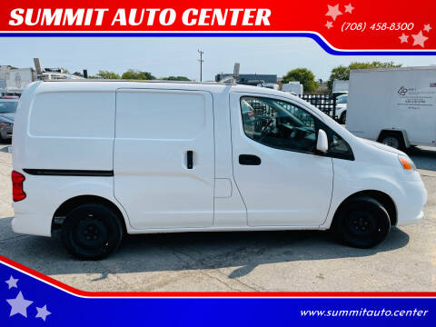 2018 Nissan NV200 for sale at SUMMIT AUTO CENTER in Summit IL