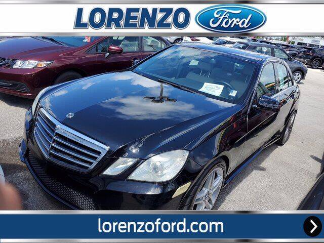 2011 Mercedes-Benz E-Class for sale at Lorenzo Ford in Homestead FL