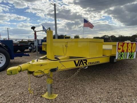 2021 VAR  -Custom Car Hauler 22' - 5200 for sale at LJD Sales in Lampasas TX