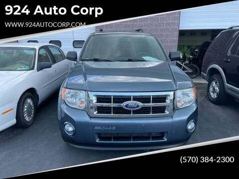 2010 Ford Escape for sale at 924 Auto Corp in Sheppton PA