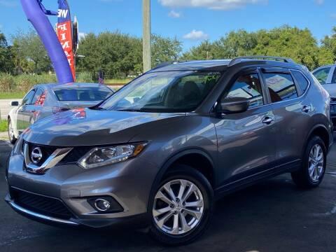 2016 Nissan Rogue for sale at LATINOS MOTOR OF ORLANDO in Orlando FL