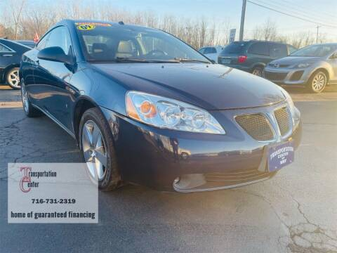 2009 Pontiac G6 for sale at Transportation Center Of Western New York in Niagara Falls NY
