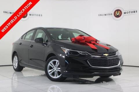 2018 Chevrolet Cruze for sale at INDY'S UNLIMITED MOTORS - UNLIMITED MOTORS in Westfield IN
