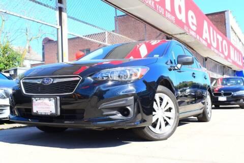 2019 Subaru Impreza for sale at HILLSIDE AUTO MALL INC in Jamaica NY