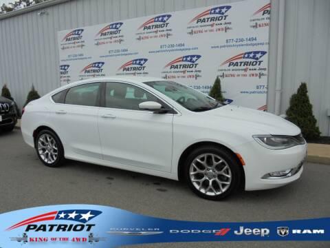 2015 Chrysler 200 for sale at PATRIOT CHRYSLER DODGE JEEP RAM in Oakland MD
