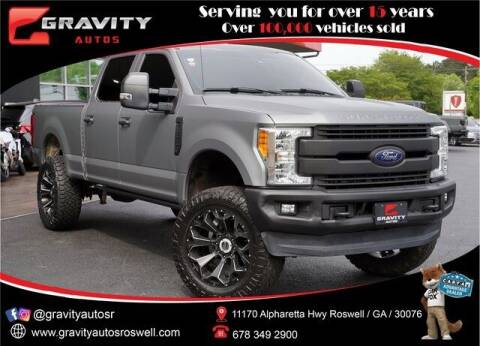 2017 Ford F-250 Super Duty for sale at Gravity Autos Roswell in Roswell GA