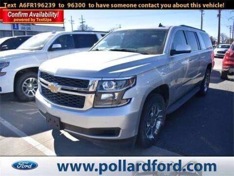 2015 Chevrolet Suburban for sale at South Plains Autoplex by RANDY BUCHANAN in Lubbock TX